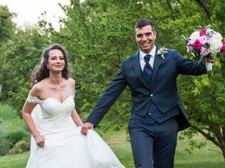 Le nozze di Fabiana e Cristiano