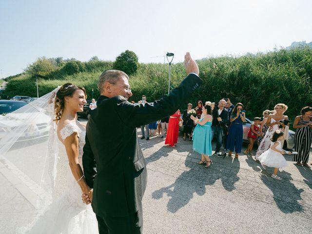 Il matrimonio di Andrea e Martina a Città Sant'Angelo, Pescara 43