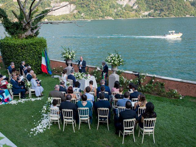 Il matrimonio di Manuela e Gilberto a Laglio, Como 21