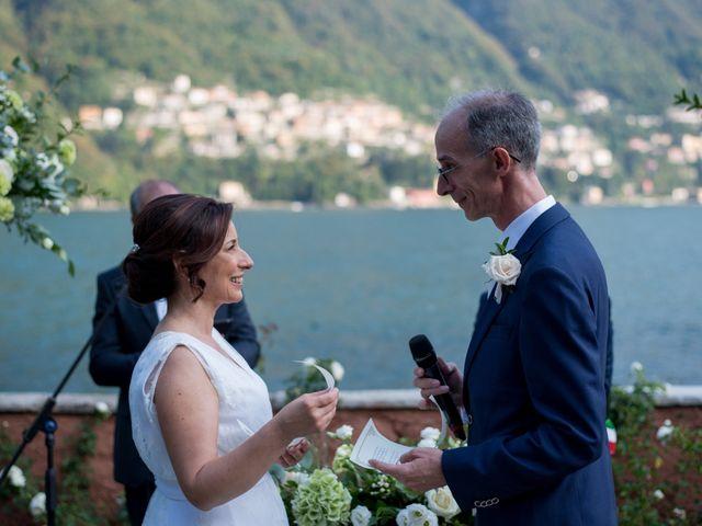 Il matrimonio di Manuela e Gilberto a Laglio, Como 23