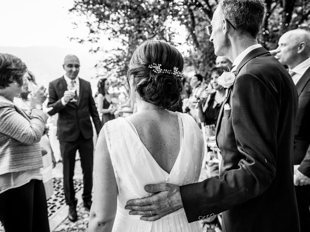 Il matrimonio di Manuela e Gilberto a Laglio, Como 1