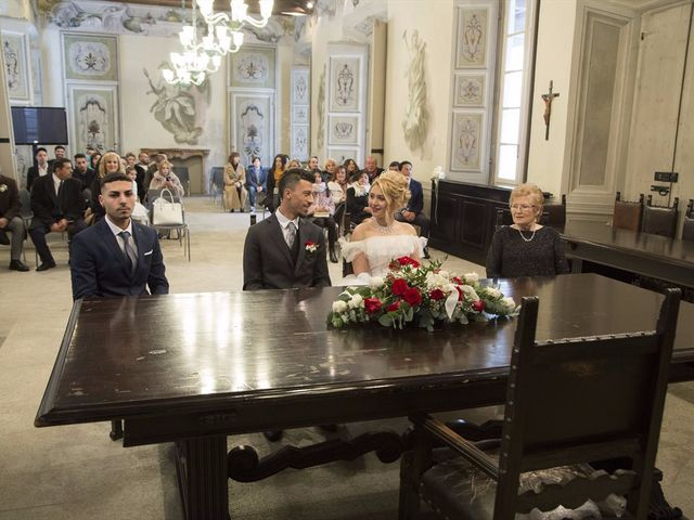 Il matrimonio di Ajoub e Amel a Turate, Como 2