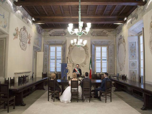 Il matrimonio di Ajoub e Amel a Turate, Como 5