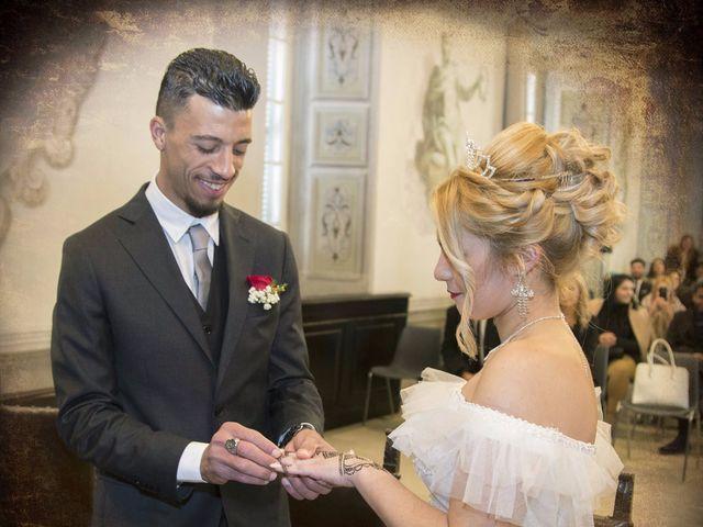 Il matrimonio di Ajoub e Amel a Turate, Como 6