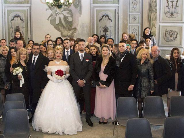 Il matrimonio di Ajoub e Amel a Turate, Como 8