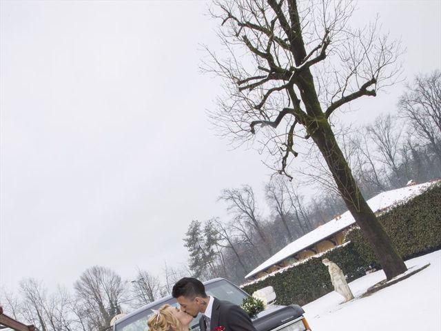 Il matrimonio di Ajoub e Amel a Turate, Como 12