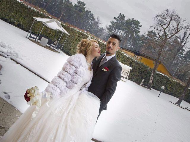 Il matrimonio di Ajoub e Amel a Turate, Como 14