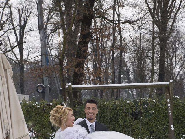 Il matrimonio di Ajoub e Amel a Turate, Como 17