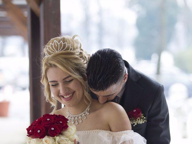 Il matrimonio di Ajoub e Amel a Turate, Como 21