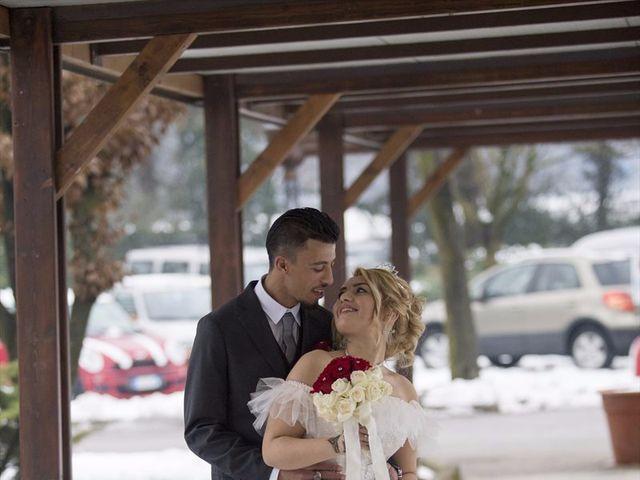 Il matrimonio di Ajoub e Amel a Turate, Como 23