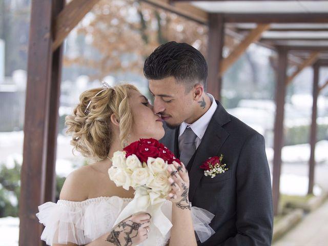 Il matrimonio di Ajoub e Amel a Turate, Como 27
