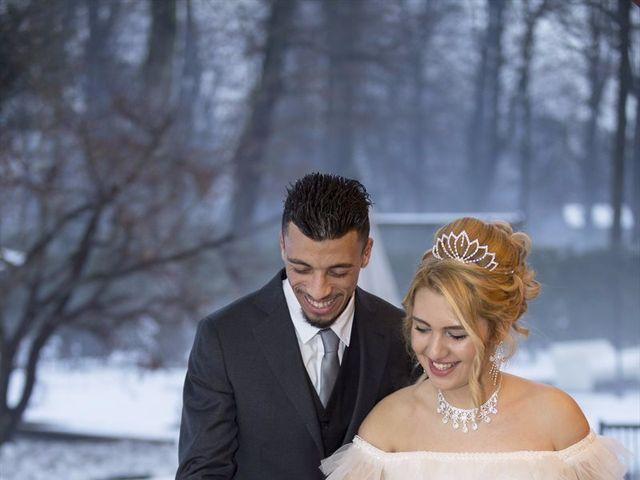 Il matrimonio di Ajoub e Amel a Turate, Como 29