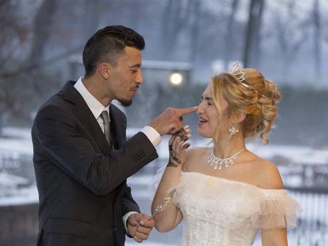 Il matrimonio di Ajoub e Amel a Turate, Como 30