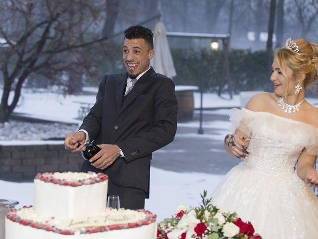 Il matrimonio di Ajoub e Amel a Turate, Como 31