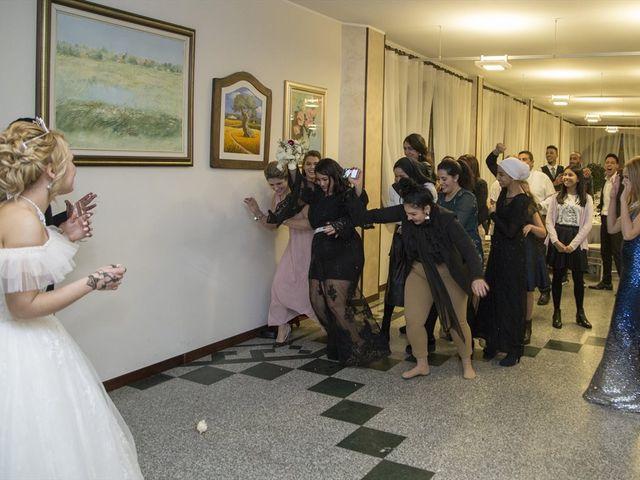 Il matrimonio di Ajoub e Amel a Turate, Como 33