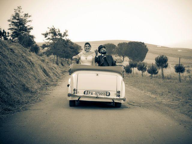 Il matrimonio di Luigi e Francesca a Corleone, Palermo 1