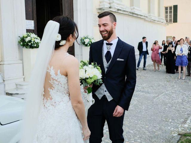 Il matrimonio di Diego e Francesca a Erbusco, Brescia 10