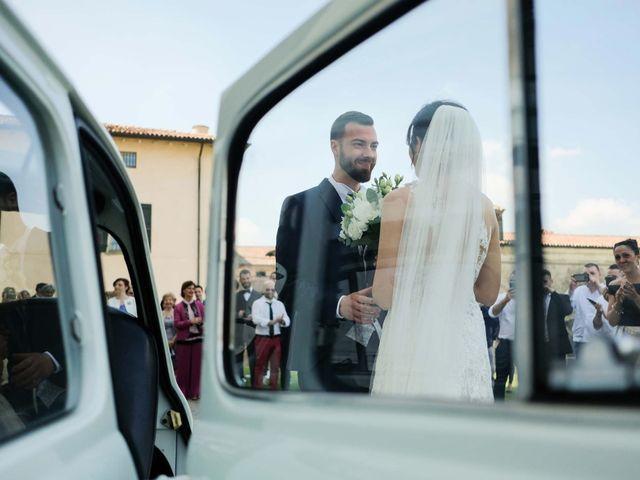 Il matrimonio di Diego e Francesca a Erbusco, Brescia 11