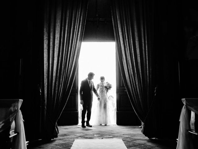 Il matrimonio di Diego e Francesca a Erbusco, Brescia 12