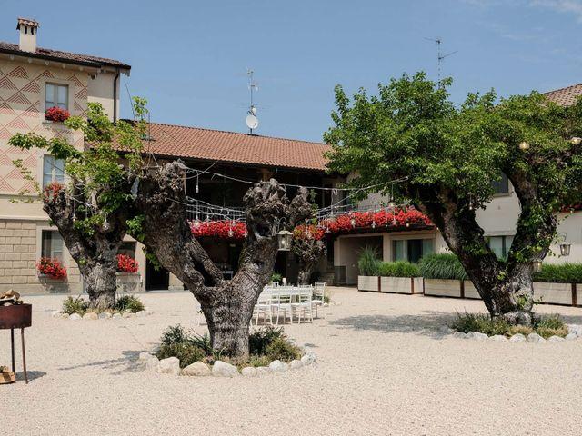 Il matrimonio di Diego e Francesca a Erbusco, Brescia 17
