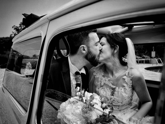 Il matrimonio di Diego e Francesca a Erbusco, Brescia 19