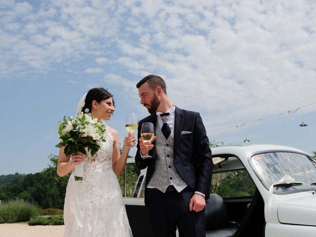 Il matrimonio di Diego e Francesca a Erbusco, Brescia 20
