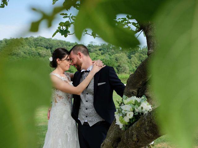 Il matrimonio di Diego e Francesca a Erbusco, Brescia 22