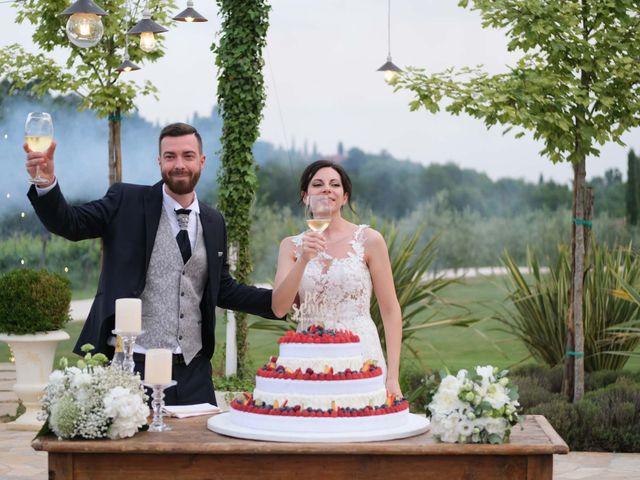 Il matrimonio di Diego e Francesca a Erbusco, Brescia 27