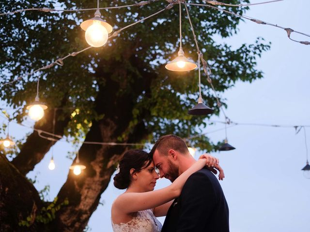 Il matrimonio di Diego e Francesca a Erbusco, Brescia 31