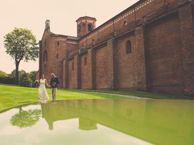 Il matrimonio di Massimo e Marina a Morimondo, Milano 9