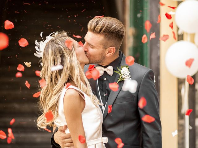 Le nozze di Tania e Alessandro
