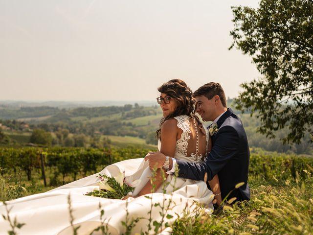 Il matrimonio di Fabio e Debora a Cocconato, Asti 14