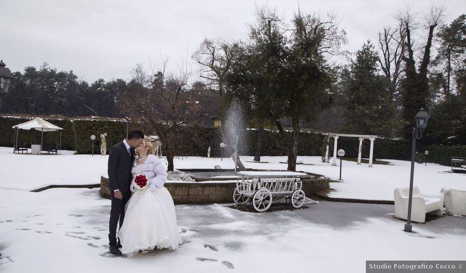 Il matrimonio di Ajoub e Amel a Turate, Como