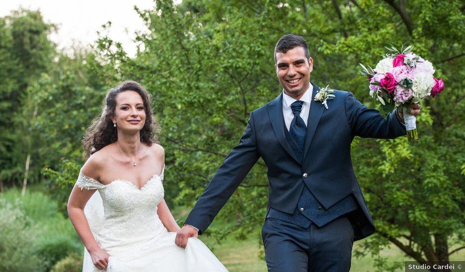 Il matrimonio di Cristiano e Fabiana a Bracciano, Roma