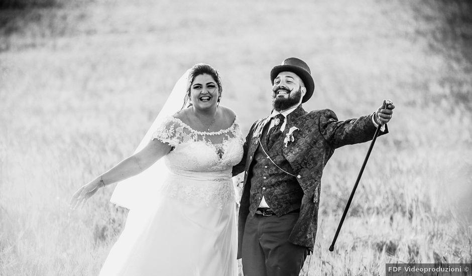 Il matrimonio di Luigi e Francesca a Corleone, Palermo