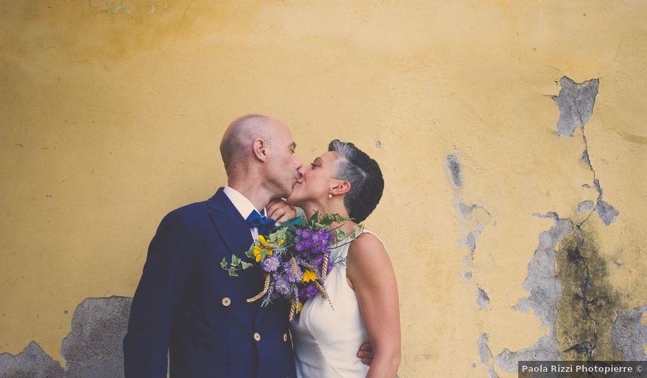 Il matrimonio di Massimo e Marina a Morimondo, Milano
