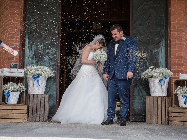 Il matrimonio di Davide e Morena a Robecco sul Naviglio, Milano 10