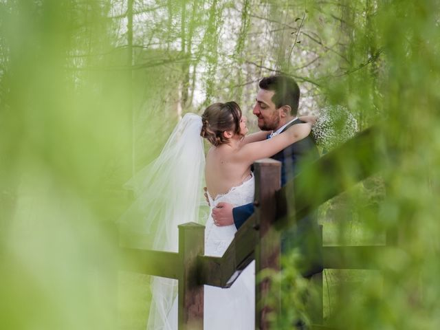 Il matrimonio di Davide e Morena a Robecco sul Naviglio, Milano 13
