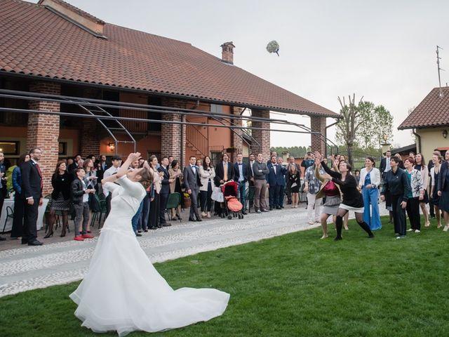 Il matrimonio di Davide e Morena a Robecco sul Naviglio, Milano 17