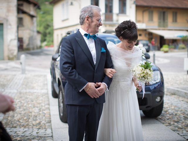 Il matrimonio di Daniele e Ilaria a San Maurizio d'Opaglio, Novara 15