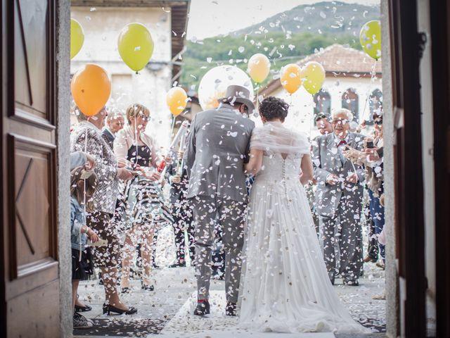 Il matrimonio di Daniele e Ilaria a San Maurizio d'Opaglio, Novara 21