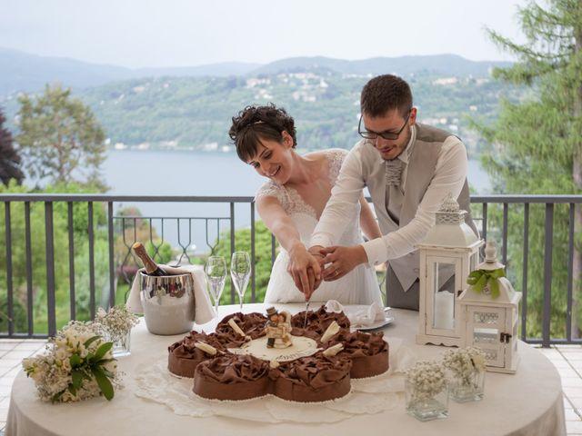 Il matrimonio di Daniele e Ilaria a San Maurizio d'Opaglio, Novara 35