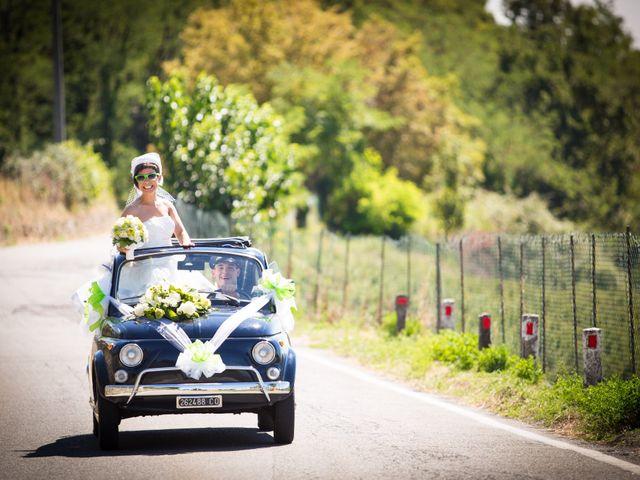 Il matrimonio di Giorgio e Daniela a Montevecchia, Lecco 7