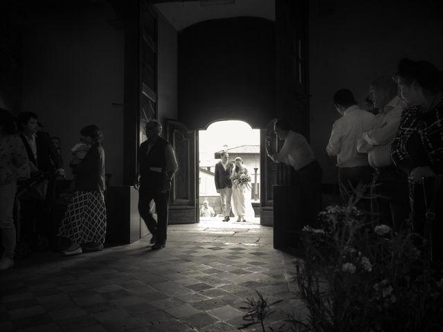 Il matrimonio di Daniele e Giulia a Cucciago, Como 11