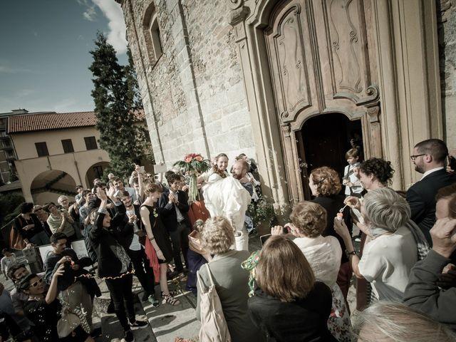 Il matrimonio di Daniele e Giulia a Cucciago, Como 23