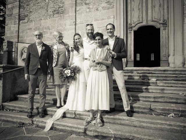 Il matrimonio di Daniele e Giulia a Cucciago, Como 25