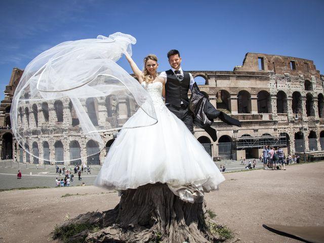 le nozze di Jelena e Fabio