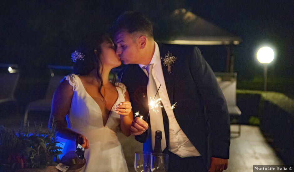 Il matrimonio di Alessandro e Alexandra a Crescentino, Vercelli