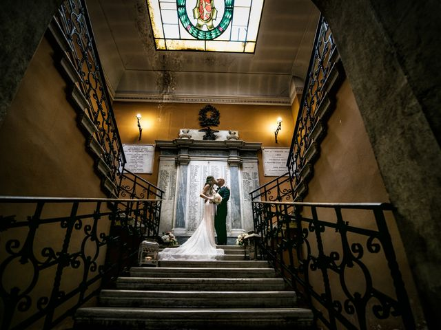 Le nozze di Regina e Juri