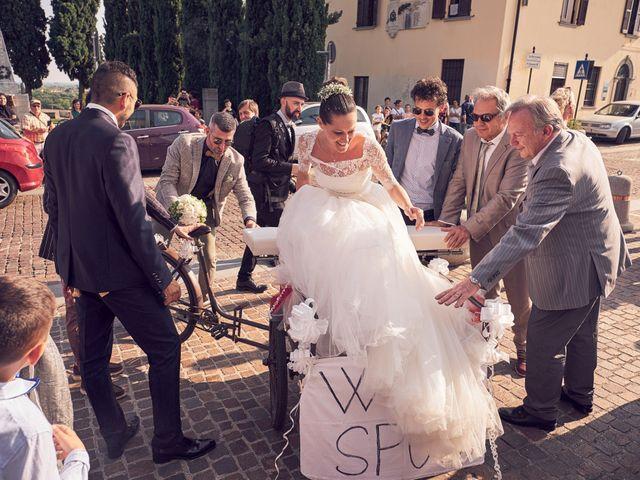 Il matrimonio di Alessandro e Barbara a Cazzago San Martino, Brescia 56